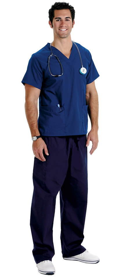 Mens Scrub Pants - Tall