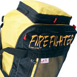 Empty Fire Gear and Uniform Bags