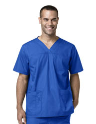 Mens Multi-Pocket Utility Scrub Top medical scrub Carhatt, carhart, Mens scrub top, mens scrubs, scrubs for men