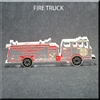 firetruck shaped engravable award