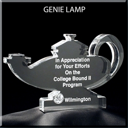 Nursing Lamp Award - Medium Award, engravable awards. Nursing award, Nursing Student Award, Lamp of Knowledge award, Rescue squad ceremony,