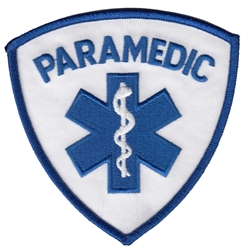 Paramedic Patch in Blue
