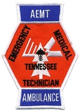 2015 New AEMT Tennessee Advanced EMT patch
