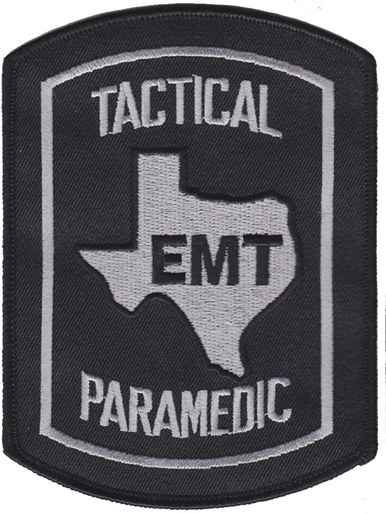 Texas tactical paramedic patch