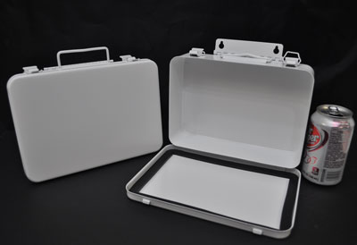 Empty 16 Unit Metal First Aid Box For 25 Person First Aid Kits