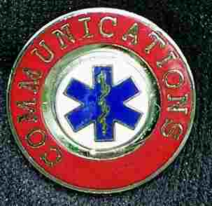 EMS Administrative Officer Insignia Pin
