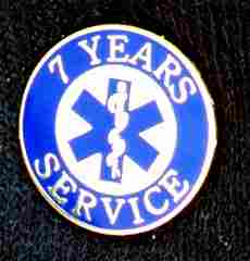 7 Year EMS Service Pin