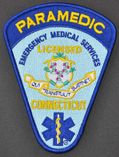Connecticut Paramedic Patch