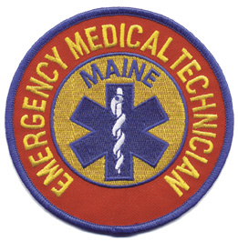 Maine EMT Patch
