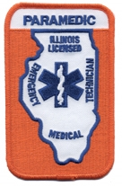 Illinois Paramedic Patch