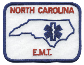 North Carolina EMT Patch