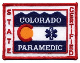 Colorado EMT Patch