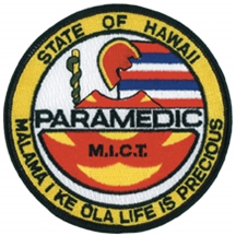 Hawaii Paramedic Patch