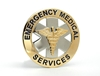 Emergency Medical Services Badge choose Gold or Nickel