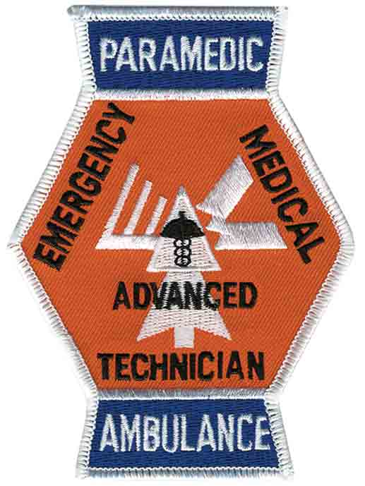 Tennessee Paramedic Rescue Patch