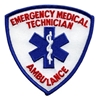 EMT Shield Patch Blue and Red