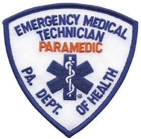 Pennsylvania Paramedic Patch
