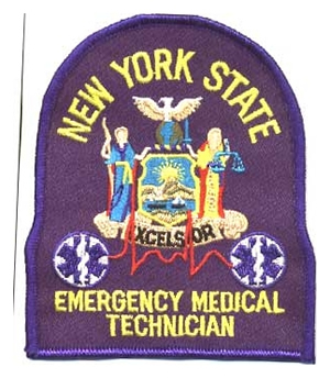 New York Emergency Medical Technicain Patch