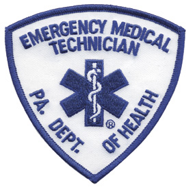 Pennsylvania EMT Patch