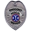 EMS Badge Patch Silver