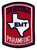 Texas Paramedic Patch - Color