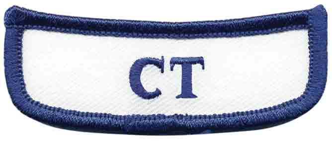 Georgia CT Rocker Patch