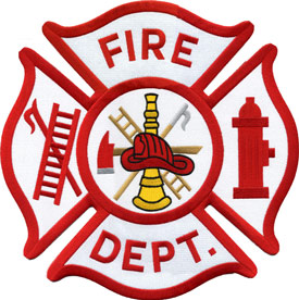 Fire Dept Scramble Back Patch