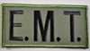 EMT Chest Emblem Black/Olive Drab