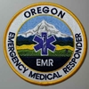 Oregon EMR Patch OR EMR patch, Oregon EMR patch, Emergency Medical Responder, uniform patch, responder