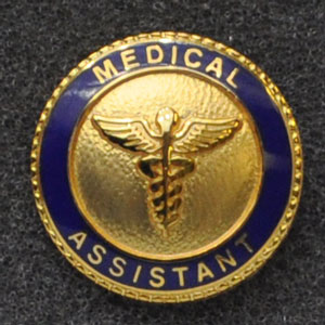 Medical Assistant Graduation Pin