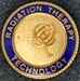 Radiation Therapy Graduation Pin - HJ-7804