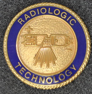 Radiologic Technology Graduation Pin Rad tech pin, radiation, graduation pin, Radiologic Technology, X-Ray,
