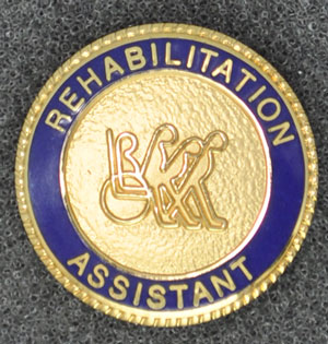 Rehabilitation Assistant Graduation Pin