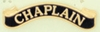 Gold Chaplain Citation Bar - Black Chaplain, Citation Bar, Chaplain Supplies