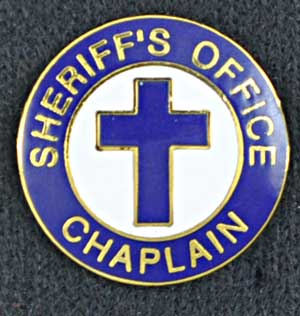 Sheriff Chaplain Pin Cross Sheriff chaplain, chaplain, police uniform, fire emblem
