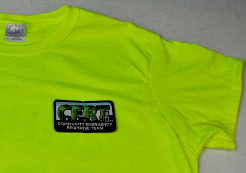 Greene County, VA CERT Polo Shirt with Pocket - SS-CERT-GC-PoloPocket-L
