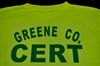 Custom Team CERT Tee Shirts CERT, CERT Team, Polo Shirt, Lime green, Safety Yellow,