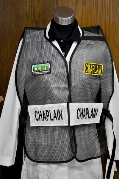 Chaplain Mesh Vest in several colors
