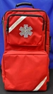 O2 / Trauma / AED Backpack (Red) - FT-911-84550RD