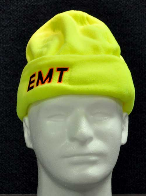 Hi-viz Reflective Micro Fleece EMT Safety Apparel, Winter apparel, hats, fleece, Rescue personnel, CERT, Ambulance