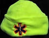 Hi-viz Reflective Micro Fleece Star of life Safety Apparel, Winter apparel, hats, fleece, Rescue personnel, CERT, Ambulance