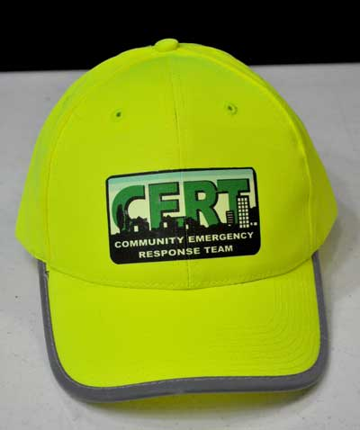 CERT Cap with Reflective stripe