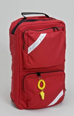 Urabn rescue backpack features inside and outside storage