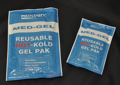 Large Reusable Hot-Cold Gel Pack - Single Gel pack, reusable first aid cold pack, first aid hot pack, Pak,