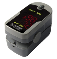 Basic Fingertip Pulse Oximeter Pulse oximeter, oximeters, diagnostic, tools, med students, nursing students, Economy purse Oximeter