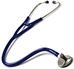 Clinical Classic Zinc Single Head Stethoscope In Navy Blue
