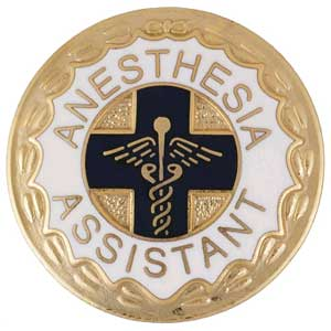 Anesthesia Assistant Pin Anesthesia, Anesthesia Pin, allied health, surgical assistant,
