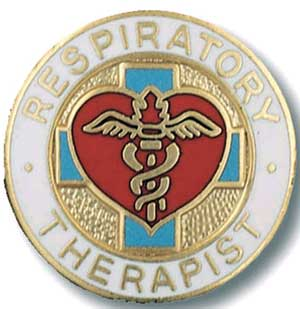 Respiratory Therapist Respiratory Therapist , Pin, RT pin, resp. ther, therapist pin,