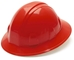 Red Full Brim Hard Hat