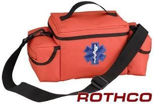 Economy Orange Medical Rescue Response Bag (empty)